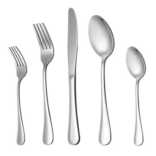 LIANYU 20-Piece Silverware Flatware Cutlery Set Stainless St