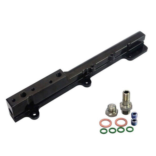Black High Fuel Rail Fit For Honda Acura B16 B18 LS GSR