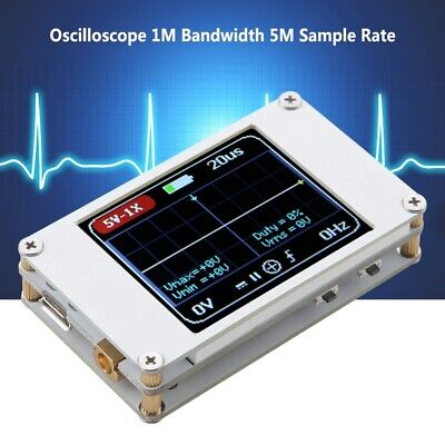 Dso188 Portable Pocket Mini 1ch Digital Oscilloscope 1m Bandwidth 5m Sample Rate
