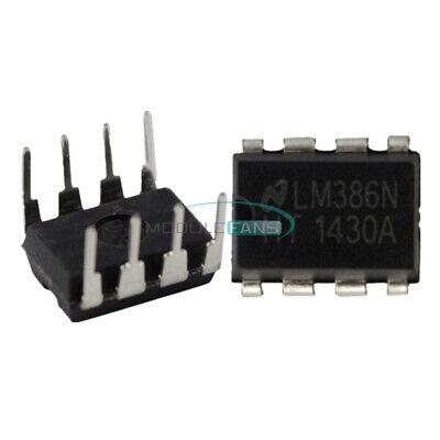 10pcs Lm386 Lm386n Dip-8 Audio Power Amplifier Ic Test Equipment