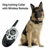 1000Yard Waterproof Shock Vibra Remote Training Collar for Small Med Large Dog F