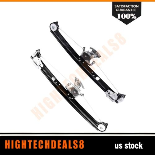 Power Window Regulator Rear Left Right without motor for 2000-2006 BMW X5