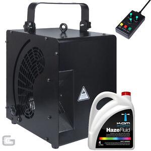 Kam KHM600 KHM 600 Haze Machine 600W High Output DJ Club Hazer Mist Effect Unit