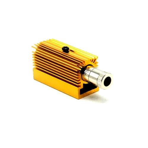 12mmx40mm Diode Housing & 20mmx27mmx50mm heatsink DIY for TO-18 5.6mm LD