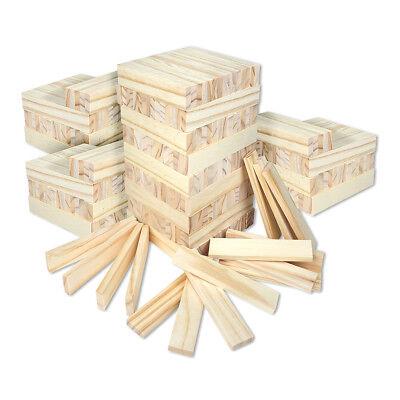 Schramm® 300 Stück Holzbausteine Holzklötzer Holz Bausteine Baustein