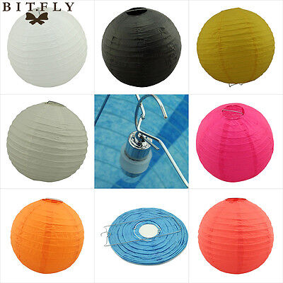 LED light  Round Chinese Paper Lanterns Lamp Wedding Christmas Party Decoration