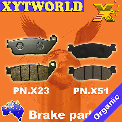 Front Rear Brake Pads Yamaha X  Max 125 Momo Design Inc Abs 2015