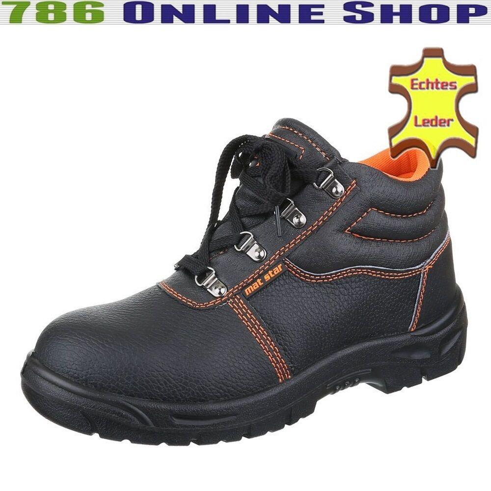 Herren Sicherheitsschuhe Boots (214C) Arbeitsschuhe Schutzklasse S3 Schuhe Neu