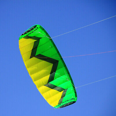 3M² Quad Line Traction Kite Power Water Trainer Kite Parafoil Parachute Pro, used for sale  China