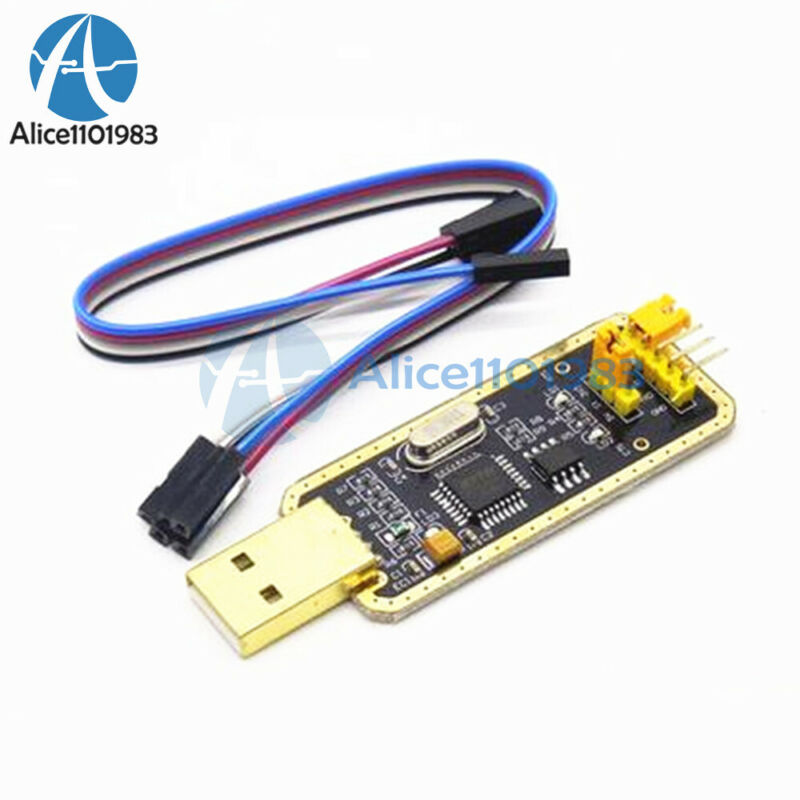 FT232 USB to Serial USB to TTL Upgrade Download//CH340G AdapterBrush Board Gold