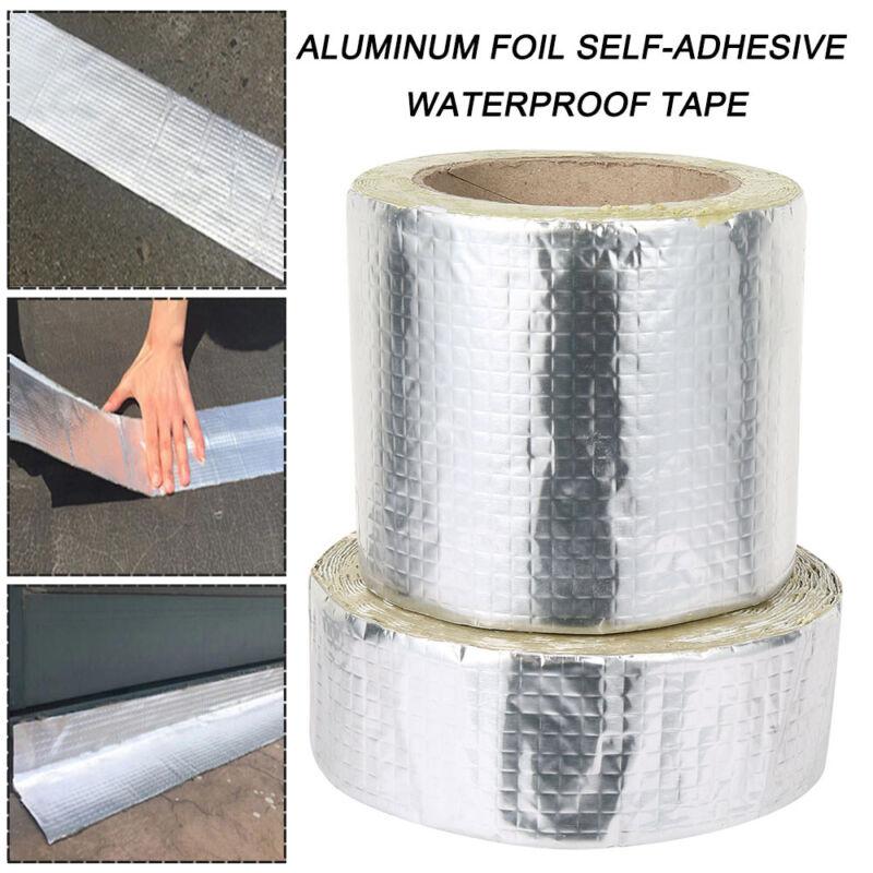 Aluminum Foil Rubber Tape Self Adhesive Waterproof Roof Pipe
