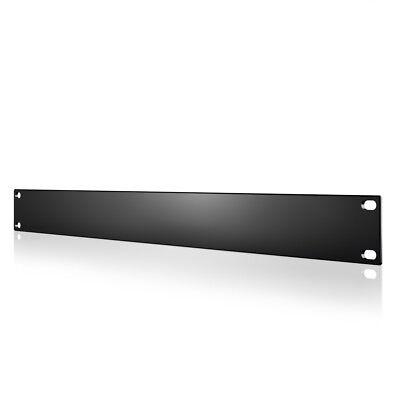 """Rack Panel Accessory Blank 1U Space for 19"""" Rackmount, Heavy-Duty Gauge Steel"""