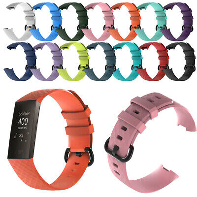 For Fitbit Charge 3 Wrist Straps Wristband Best Replacement Accessory Watch