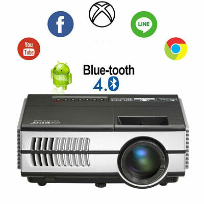 Android Mini Projector Portable Smart 1080P Home Theater HD Game Birthday Gift