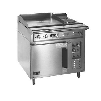 "Lang R36C-ATF 36"" Electric Range W/ 1 12"" Hot Plate & 4 8"" French Hot Plates"
