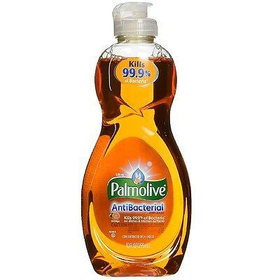 Palmolive Ultra Antibacterial Concentrated Dish Liquid, Orange 10 oz