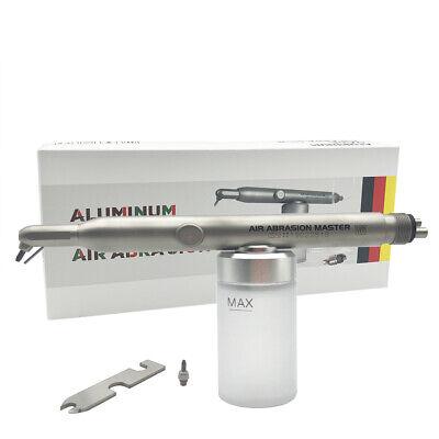 Dental Alumina Air Abrasion Polisher Sandblaster Gun 4hole With Cooling Function