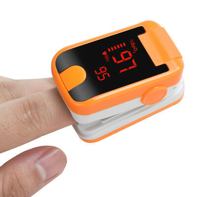 New Finger Tip Pulse Oximeter Spo2 Heart Rate Monitor Blood Oxygen Sensor Ce