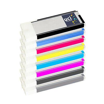 8 Ink Cartridges for Epson Stylus Pro 4800 Printer