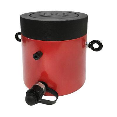 200 Ton 2 Stroke Hydraulic Cylinder Jack Ram 7.25 Closed Height Wlock Nut