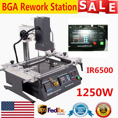 Ir6500 Infrared Bga Rework Station Solderingwelding Tech For Xbox360 Ps3 110v