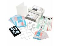 Sizzix machine starter pack brand new selling for £80 priced on craft channels and shops at £199.00