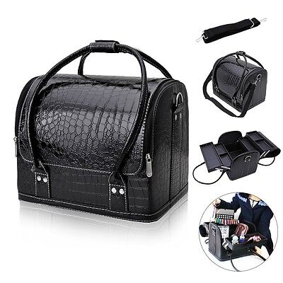 Professional Makeup Bag Case Beauty Cosmetic Box Vanity Case Nail Tech Storage