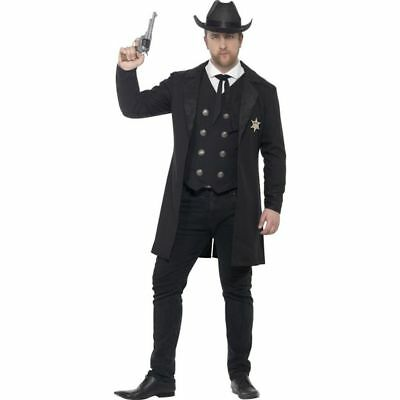 Smi - Western Herren Kostüm Sheriff Cowboy Karneval Fasching