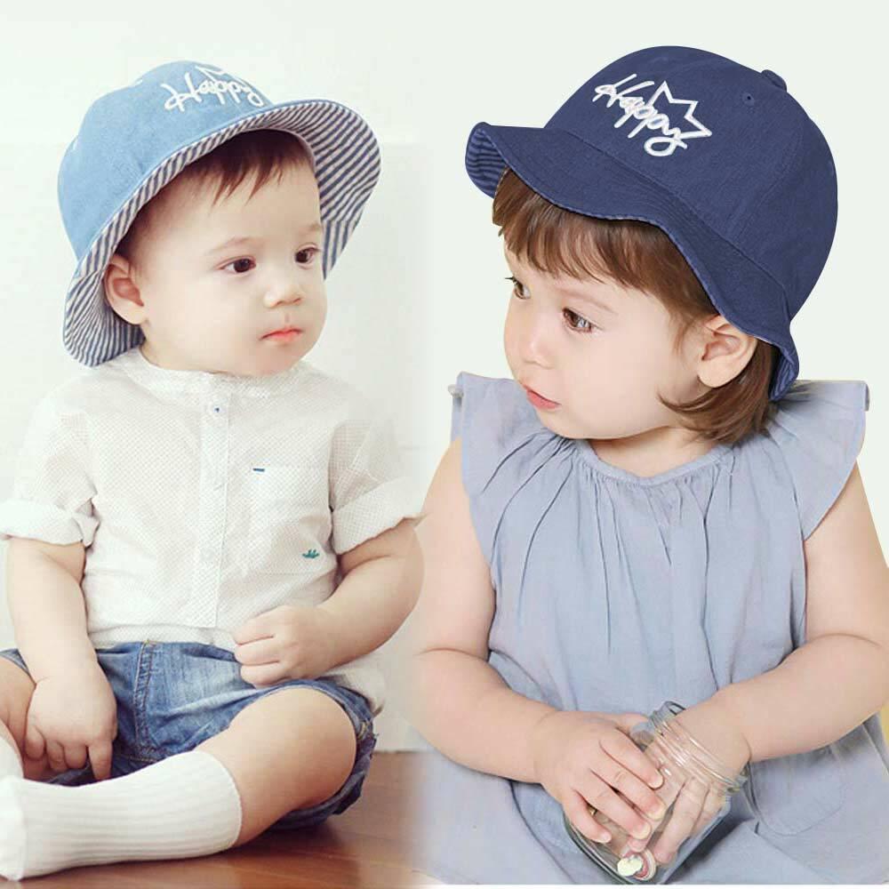 f0ec1c139 Baby Sun Hat Spring Summer Beach Hat Bucket Cap Newborn Toddler Kids ...
