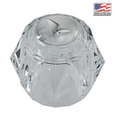 Replacement Acrylic Knob For Delta RP2392 - Single Handle Shower and Bath