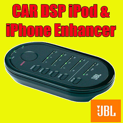 JBL CAR DSP iPod iPhone Android Phone MP3 Stereo Player Sound Enhancer Improver