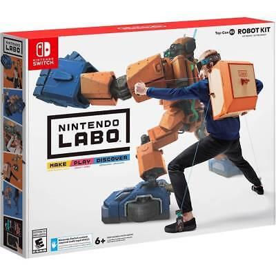 Nintendo Labo Robot Kit  Nintendo Switch  Brand New  Factory Sealed  Ships Fast