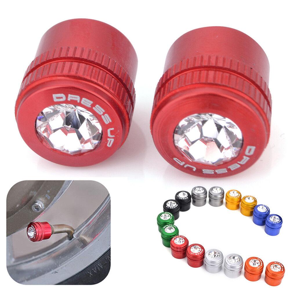 2//4//6//10pcs LED Wheel Tyre Tire Valve Caps Light Bulb for Bike Bicycle New