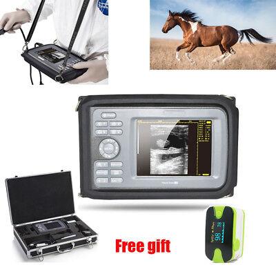 Veterinary Handheld Ultrasound Ultrasonic Scanner Machine Animal Rectal Probe Us