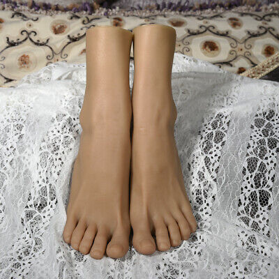 Konwu Silicone Female Feet Shoes Displays Model Legs Mannequin One Left Or Right
