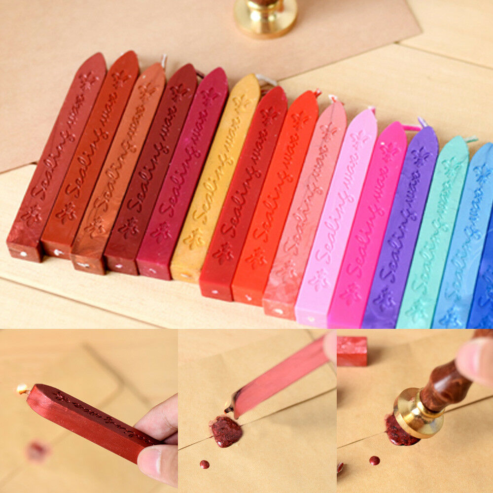 New Traditional Wax Sealing Stick for Letters Stamp Seal Melting Candle Envelope - eBay