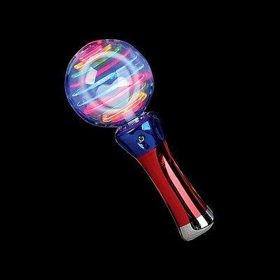 Light Up Wand Oribit Baton Stick Toy w/ LED Spinning Lights (BULK LOT OF 10X) - Bulk Light Up Toys