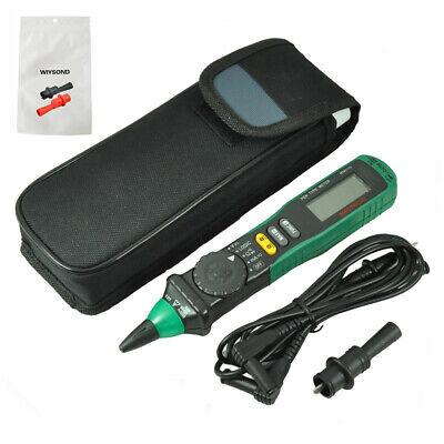 Mastech Ms8211d Pen Type Handheld Auto Range Voltage Current Tester Multimeter