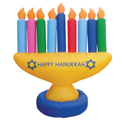 The Holiday Aisle Inflatable Lawn Menorah Decoration