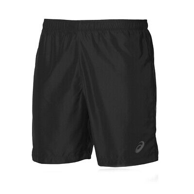 "Asics Mens Running Exercise Fitness Training 7"" Short Black"
