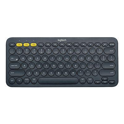 Logitech K380 Multi-Device Bluetooth Keyboard Dark Grey