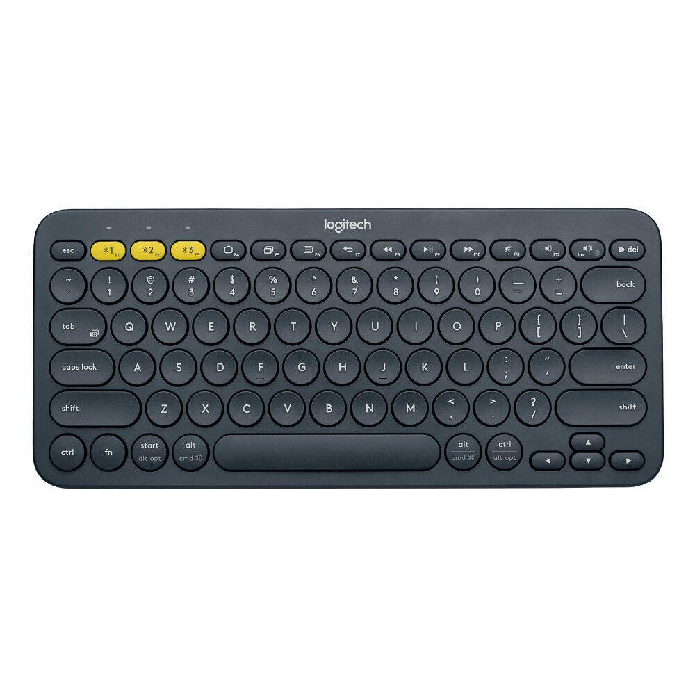Logitech K380 Multi-Device Bluetooth Keyboard - Wireless Con
