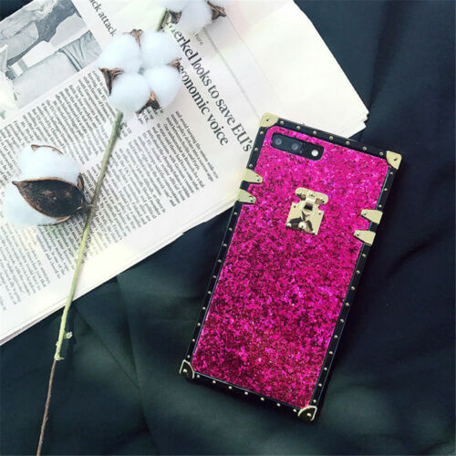 Fashion Bling Glitter Protective Case Soft Luxury Cover For iPhone Xs Max XR X 8