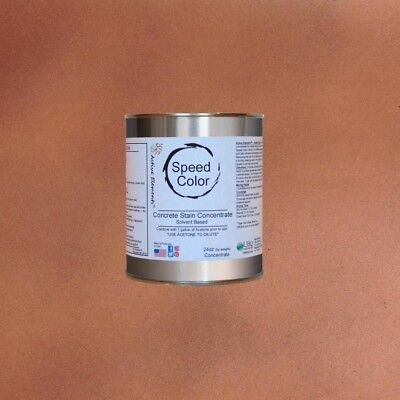 Fast Drying Concrete Paint  24oz Concentrate Yields 1 Gal Caramel Color