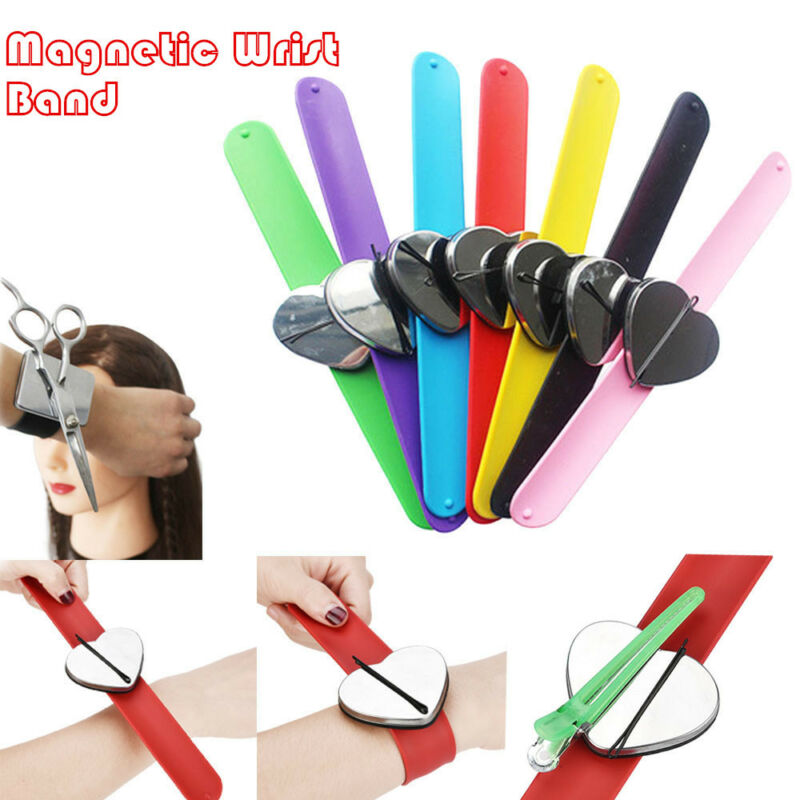 Durable Hair Styling Accessories Tools Make Up Wrist Belt Magnet Hair Pin Belt
