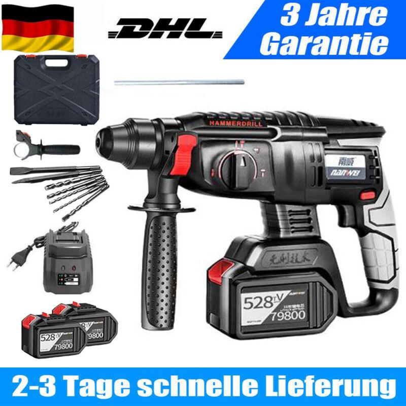 Hammer Drill For Makita Akku - Bohrhammer Schlagbohrmaschine SDS PLUS Rotary 21V