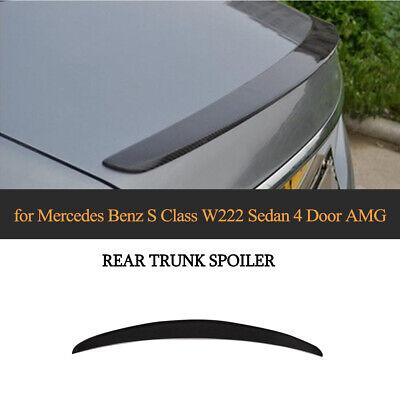 für Mercedes S-Klasse W222 S63 S65 Bj14-19 AMG Heckspoiler Lippe Carbon Spoiler