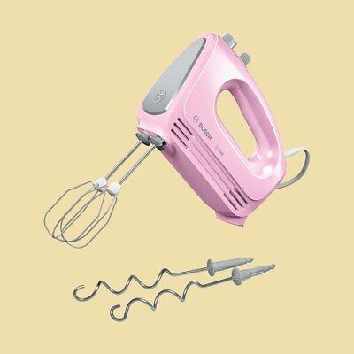 Bosch Handmixer - Handrührgerät MFQ 2210 K - 375 W - 4 Stufen - gentle pink/sil.
