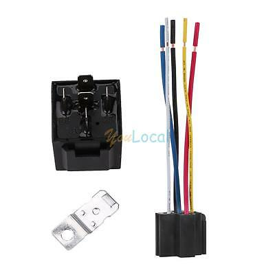 12v 3040 Amp Dc 5pin Car Spdt Automotive Power Relay With Wires Harness Socket