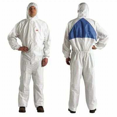 3m Protective Spray Painting Suit Overall Coverall 4540 Type 56 - Large